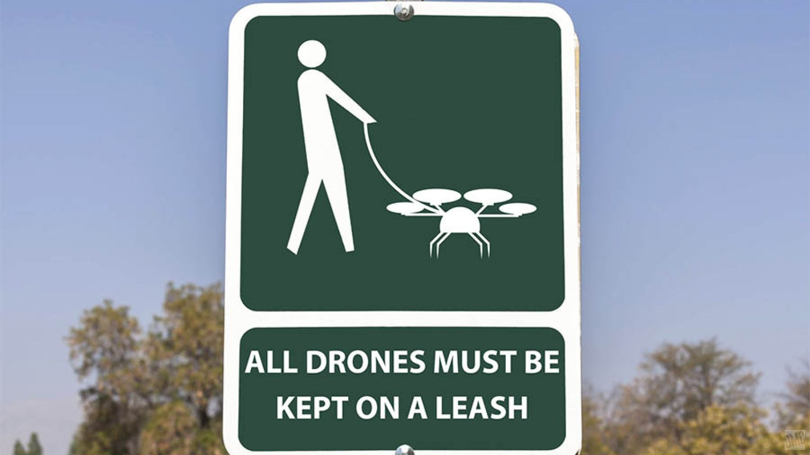 All Drones on a Leash!